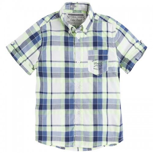 4c59e753c456 Mayoral, Рубашка для мальчика (желтая)