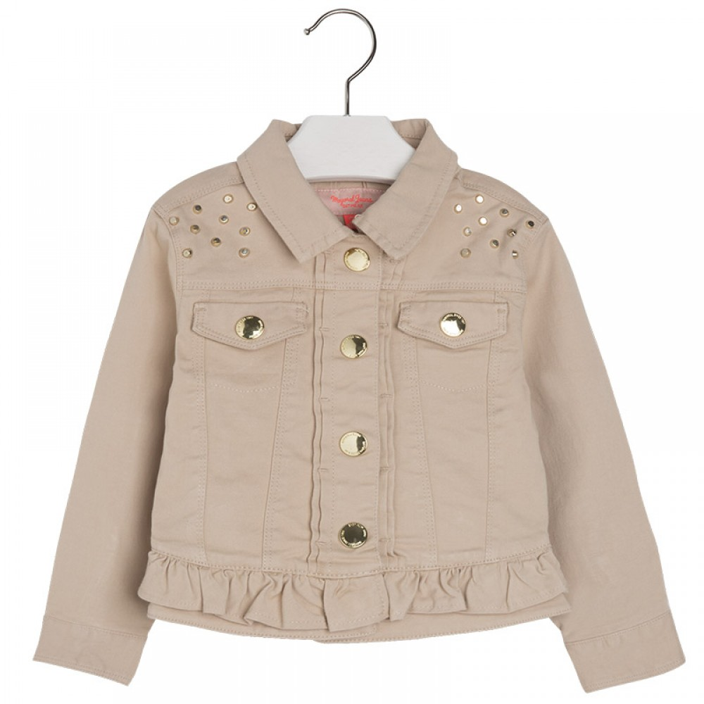 Джинсовая куртка mayoral для девочек